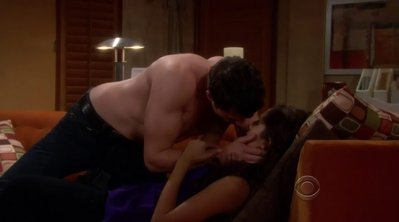 Daniel Goddard Shirtless on Young and the Restless 20110519