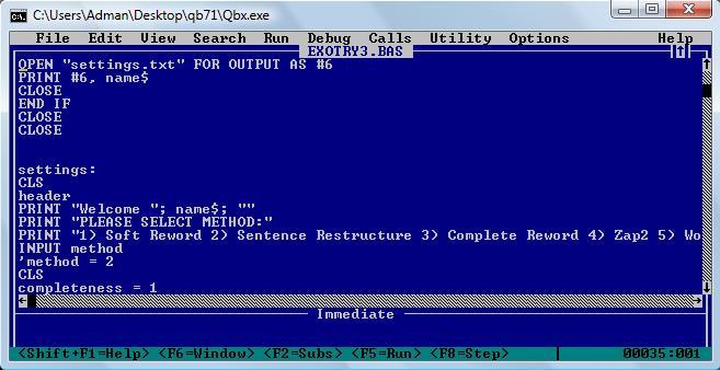 Можно очень легко поделиться программой - среда автоматически загрузит