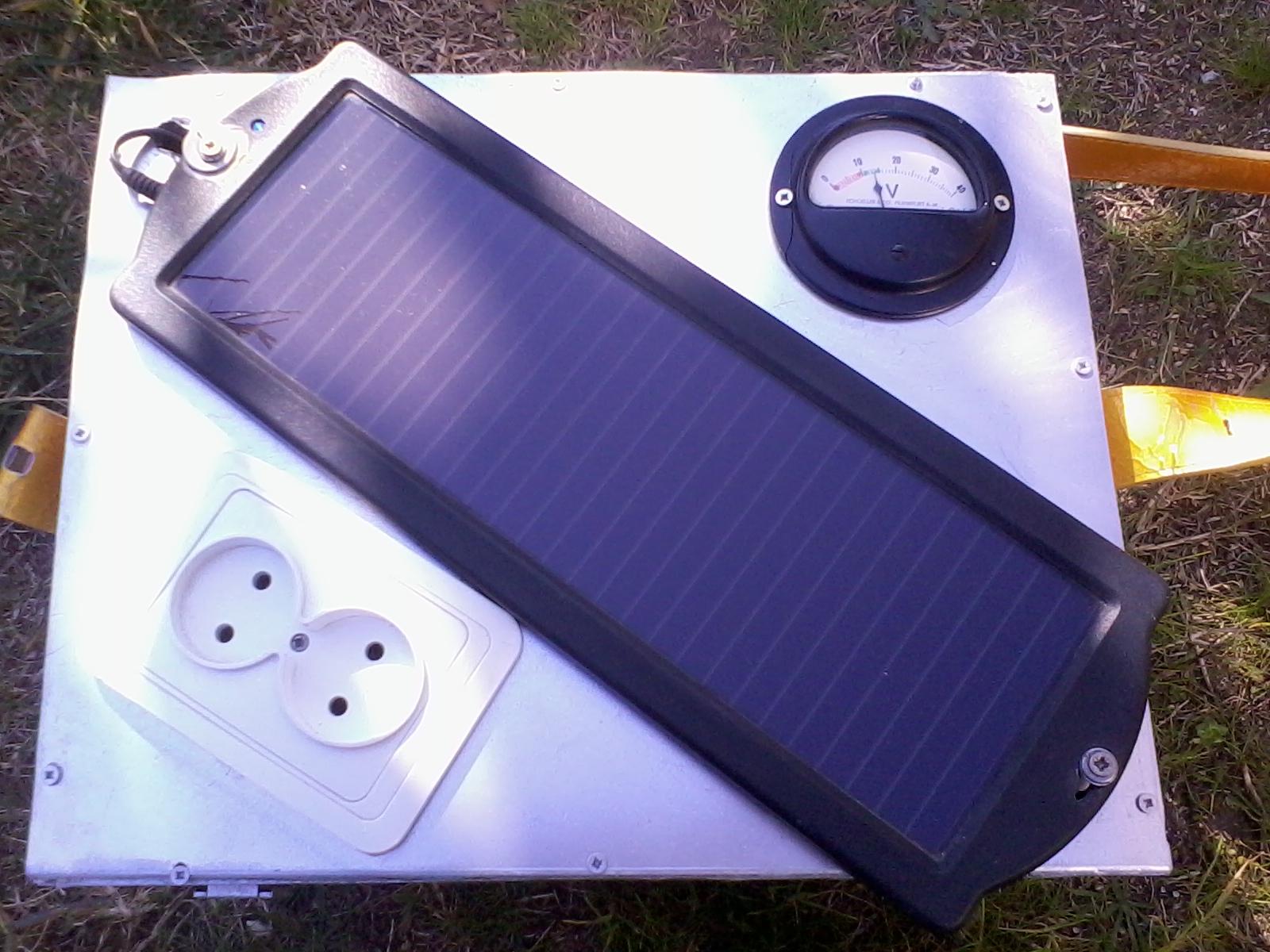 Projectos do Kiko Gerador Solar Caseiro (Homemade Solar Generator)