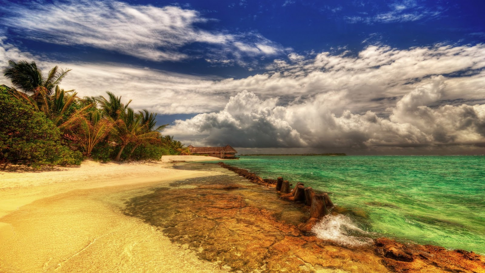 Beautiful Beach HDR