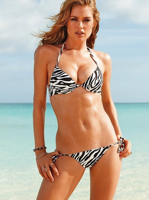 Doutzen Kroes – Victoria's Secret Swimwear Photoshoot