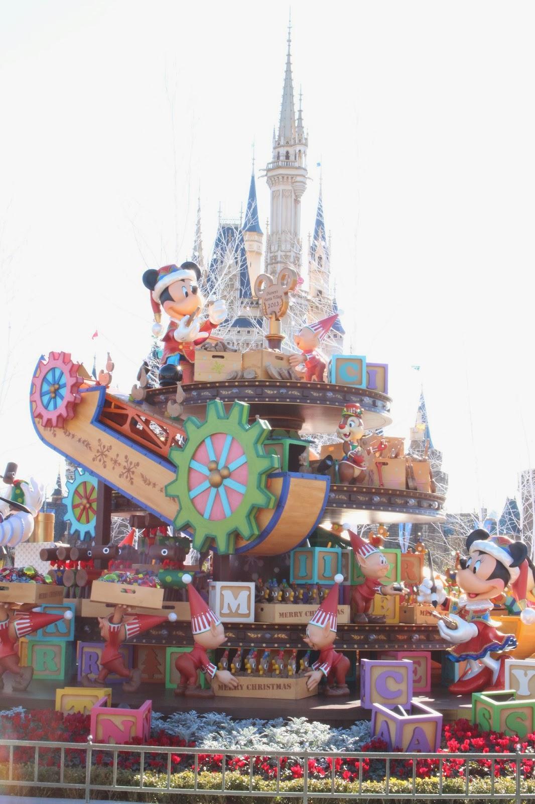 東京迪士尼聖誕節