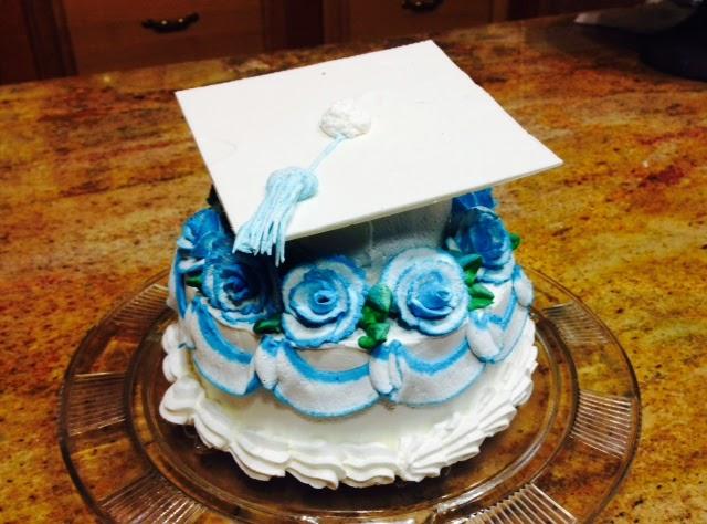 Frosted Art Quick Graduation Cap Cake Cake Decorating