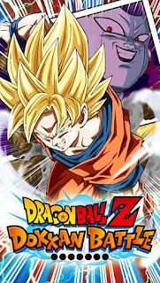 Screenshots of the Dragon ball Z: Dokkan battle for Android tablet, phone.