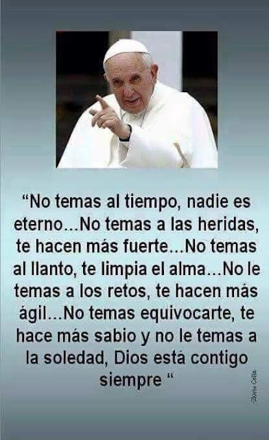 Reflexion Papa Francisco