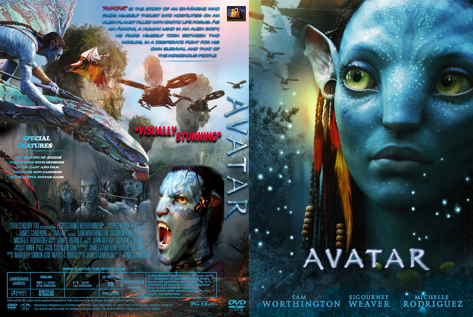 Avatar Dvd Front Cover