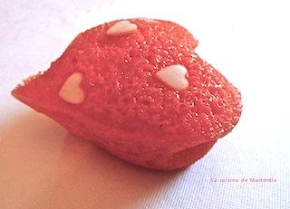 recette petits coeurs- feter la Saint Valentin-La cuisine de Marderelle