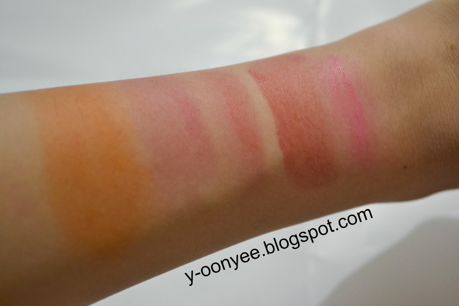 Tony Moly Delight Lip Tint 100percent Original From Korea Spec Dan Liptint Source Left To Right Peri Pera