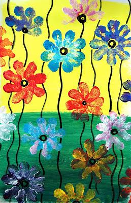 Fleurs Printanières En Ms
