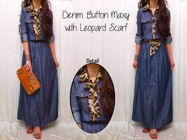 Bahan Denim Rayon SUPER (Soft jeans)(High Quality) Bahan Belt Leopard Chifon Matt Fit to XL
