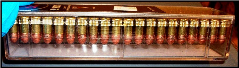 Ammunition discovered in a carry-on bag at Oklahoma City (OKC).