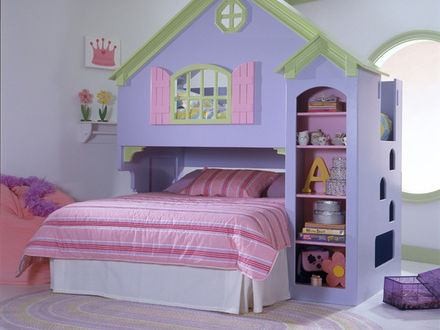Bunkbeds Add Style And Storage To Childrens Rooms