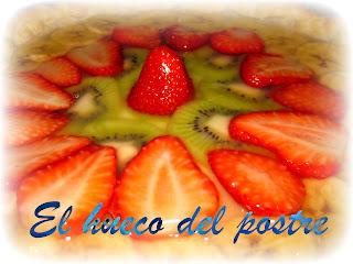 Tarta De Hojaldre, Crema Y Fruta