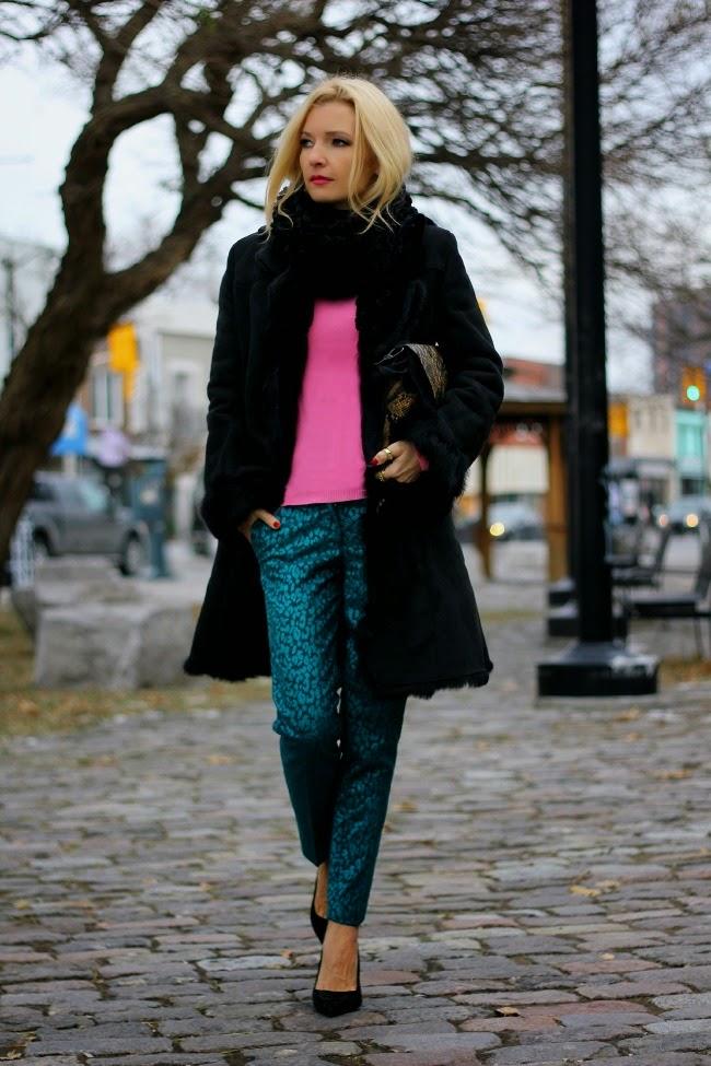 jewel-tone pants zara shoes amadeusonthecatwalk