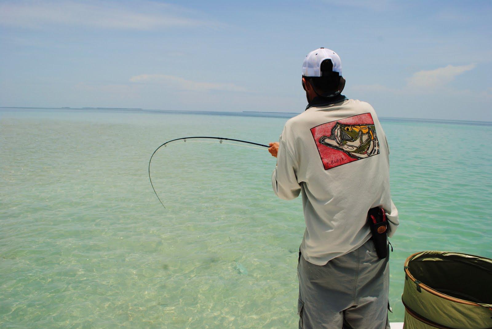 The pine island angler key west flats fishing part 1 for Bone fishing key west