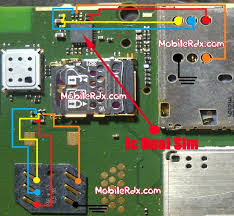 This is Nokia Asha 210 insert Sim Problem Solution. check this line and make this jumper. you can solve this problem. nokia 110 insert sim. nokia 1600 insert sim. nokia 1200 sim ic problem. nokia 105 light ic problem. nokia 1202 light ic problem solution.