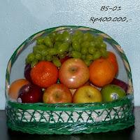 parcel buah harga Rp400.000,-