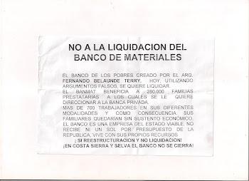 NO A LA LIQUIDACION