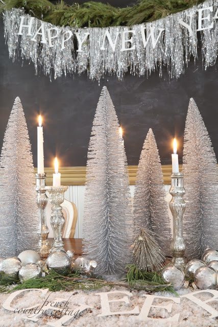 New years eve decor french country cottage