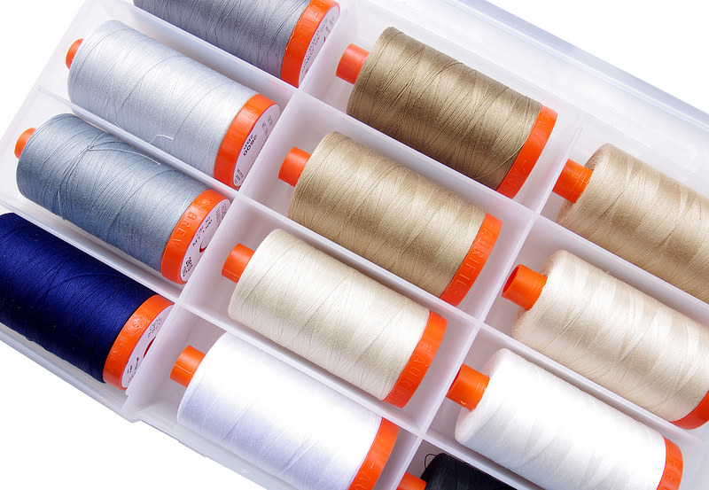 Aurifil Piecing Box Threads - exclusive to the Fat Quarter Shop