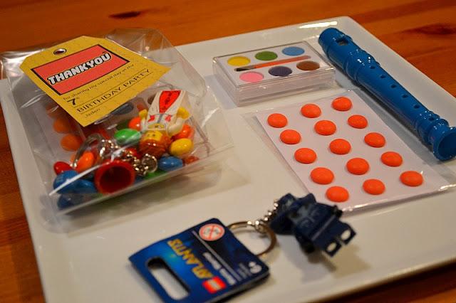 LEGO party favor bag