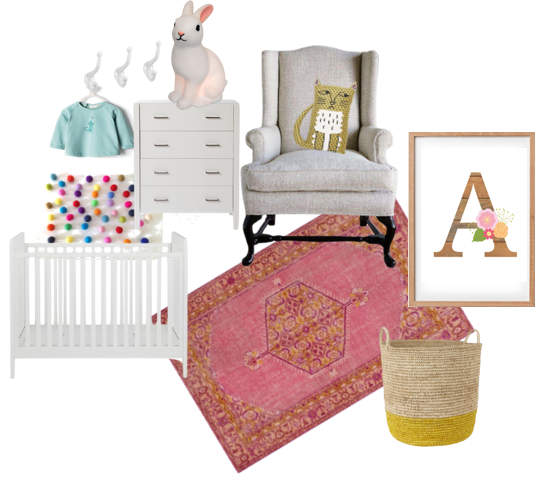 Nursery design by Amy MacLeod - five kinds of happy blog