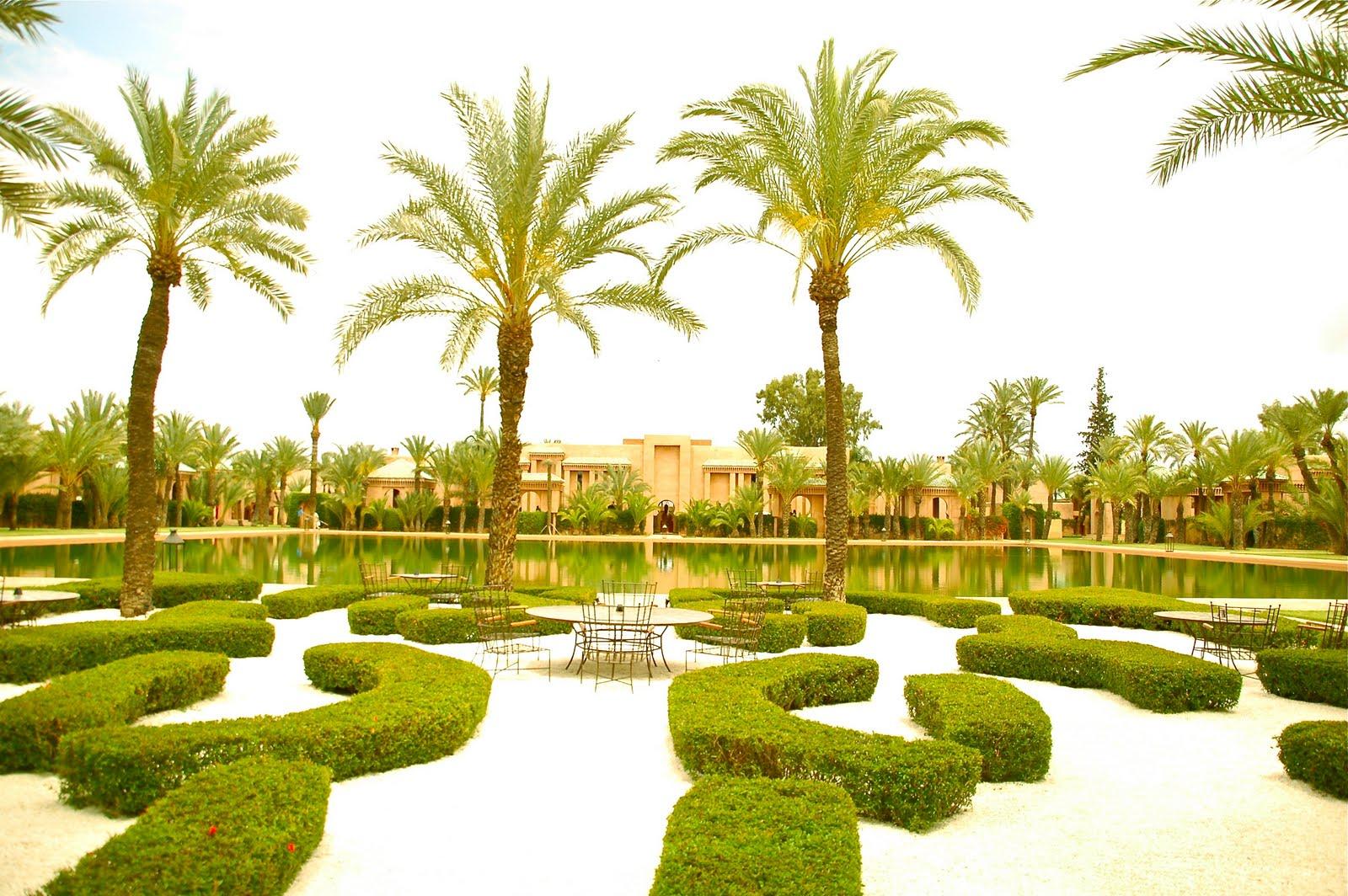 Lugares que ver hotel la mamounia marruecos for Jardines de lujo