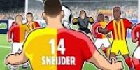 sneijder kafa golü