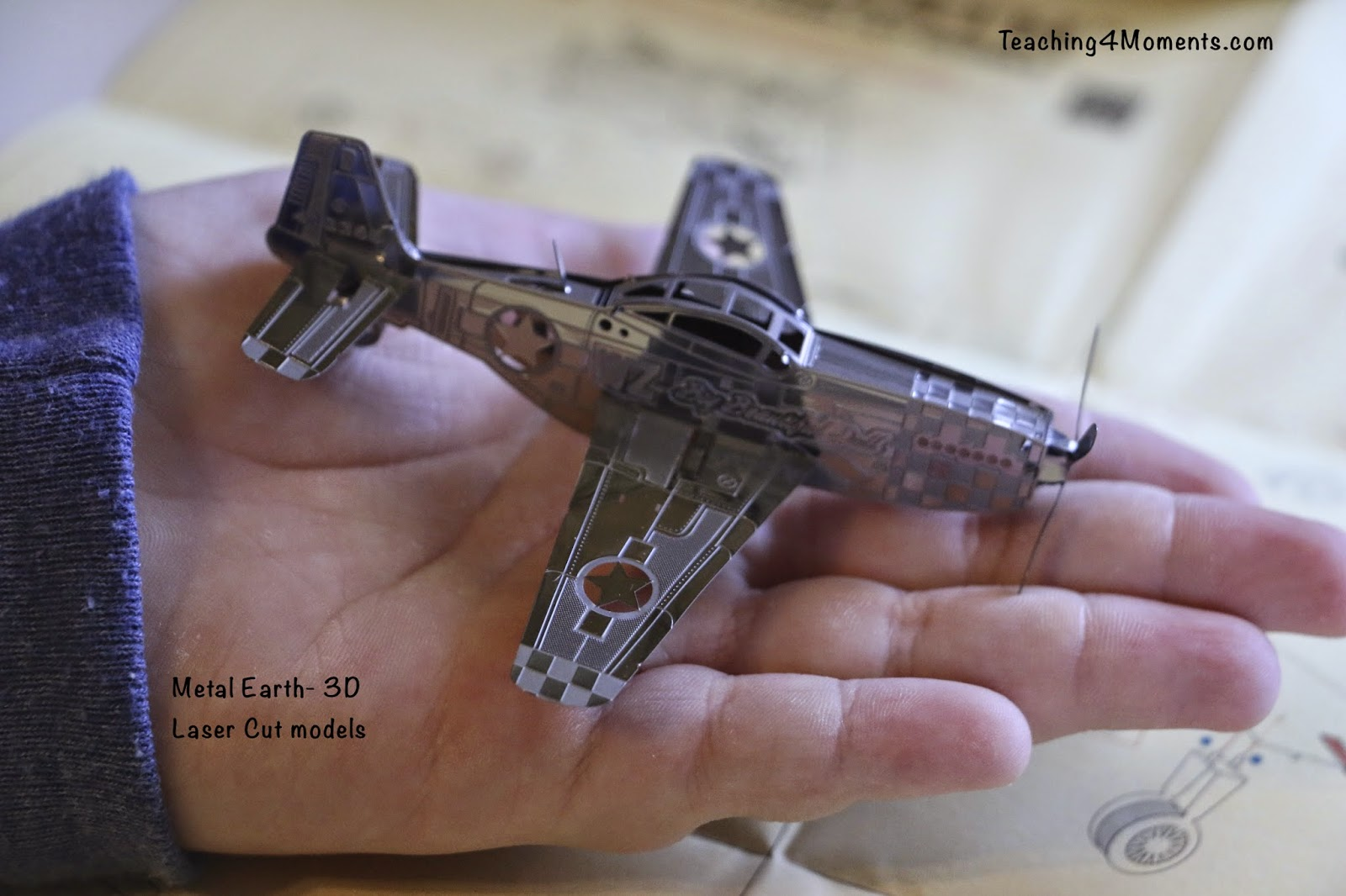 Metal Earth, 3D laser cut model