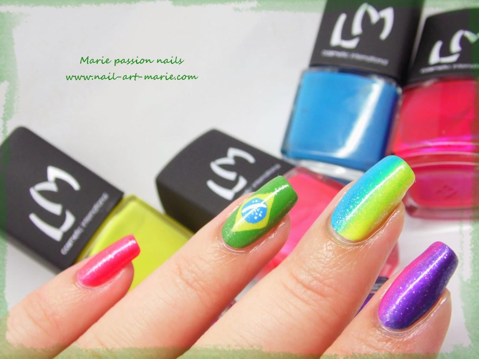 nail art Brésil6