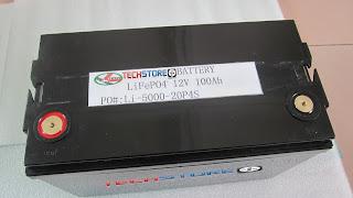 Lithium fritidsbatteri