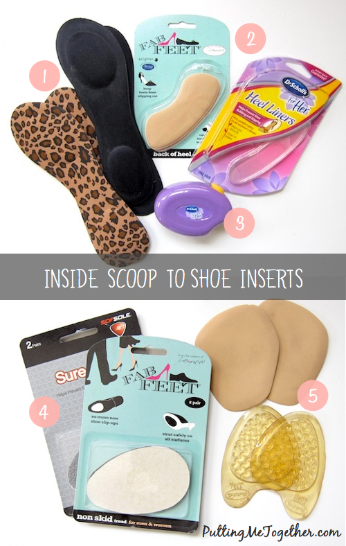 Putting Me Together Inside Scoop To Shoe Inserts