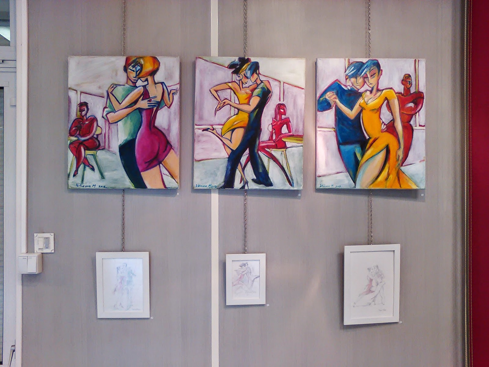 Peinture Tango 2015