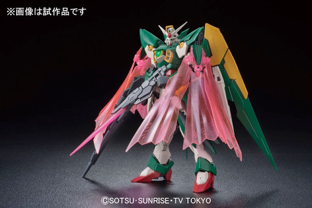 photo MG Gundam Fenice Rinascita official image 03