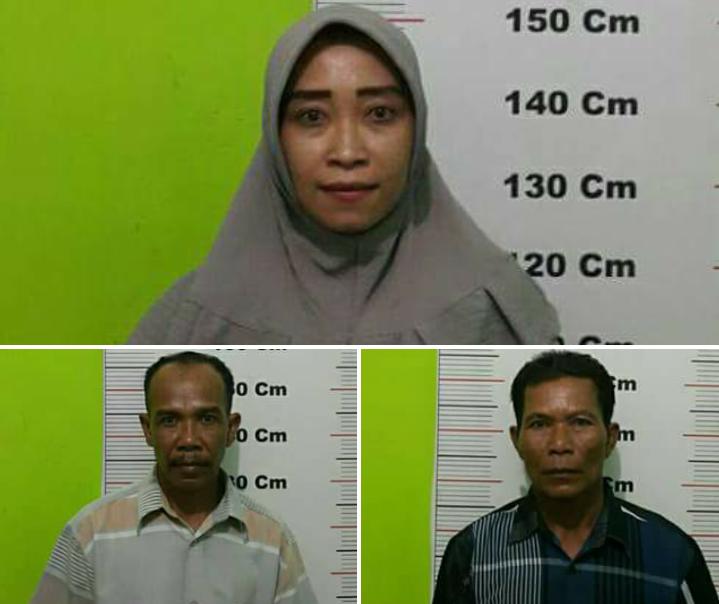 Tiga Kepala Dusun Desa Telaga Jernih Jadi Tersangka Kasus Pemerasan