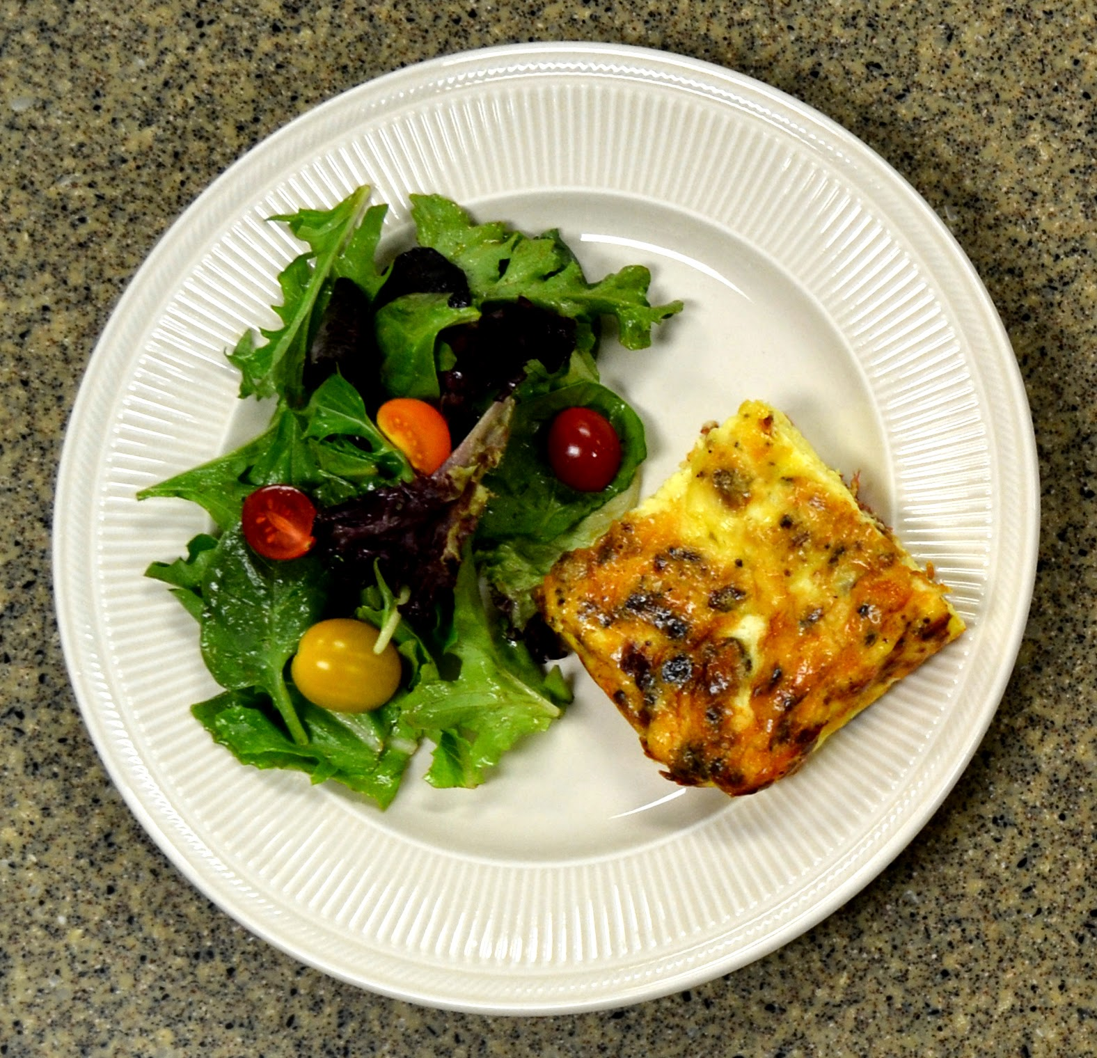 Jungle Jim's Food For Thought: Quiche Lorraine Frittata