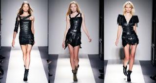 fotos de vestidos de couro