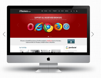 JF Business Joomla Business Templates