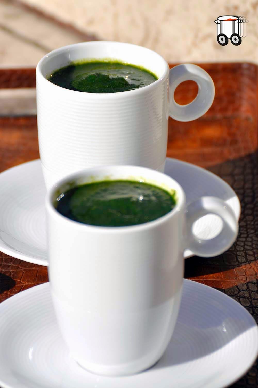 Szybko Tanio Smacznie - Kremowa zupa ze szpinaku