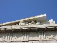 Metopa del friso del partenon. Grecia antigua. Arquitectura griega