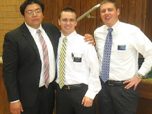 Elder Martinez heads to the San Bernadino, CA Mission