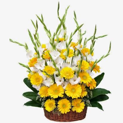 Arreglos Florales en Cestas, parte 3