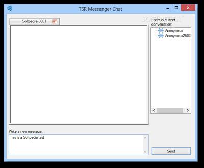 Free Instant LAN Messanger Software | TSR LAN Messenger