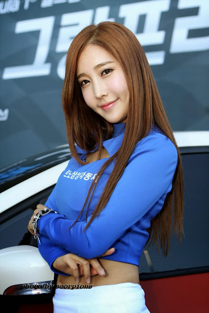 4 Im Min Young - Renault Samsung RC F1 Grand Prix 2013 - very cute asian girl - girlcute4u.blogspot.com