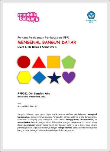 Download Rencana Pelaksanaan Pembelajaran RPP Kurikulum 2013