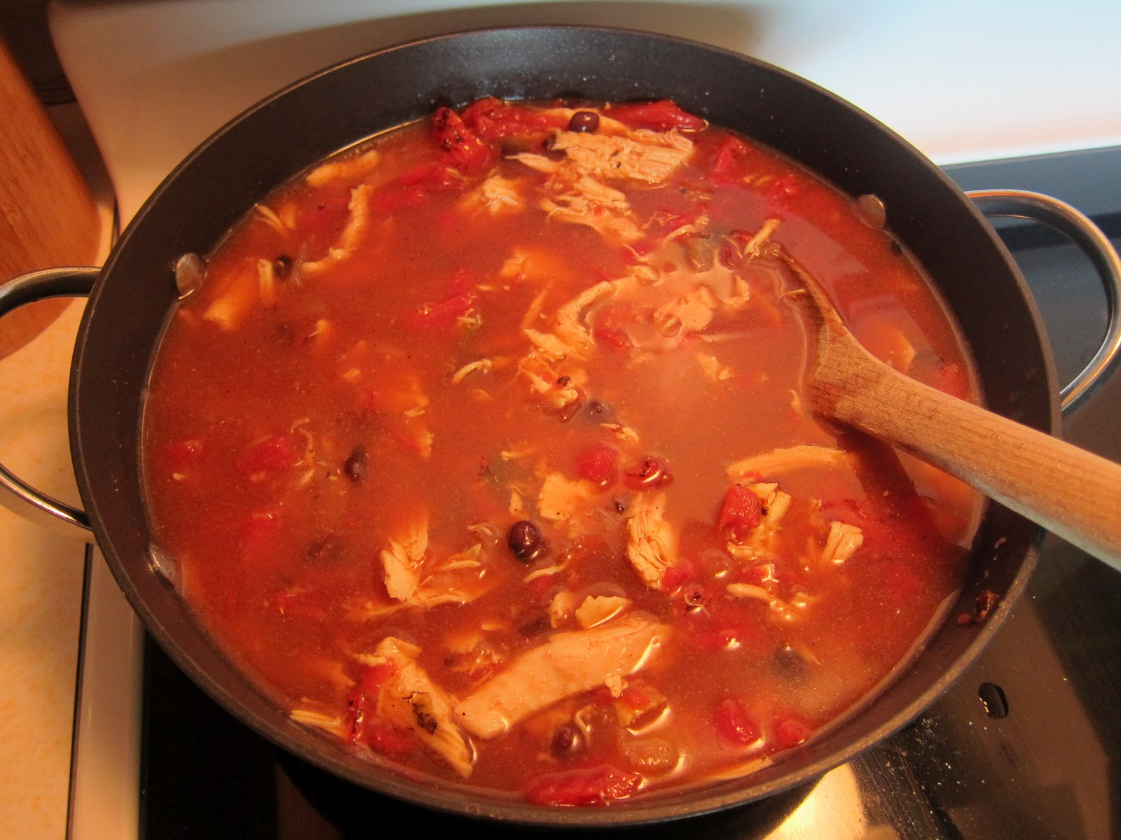 ... Good Life with Megan and Munches: Leftover Uplift: Chicken Fajita Soup