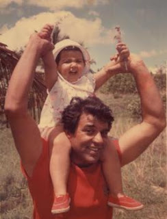 Esha Deol with father
