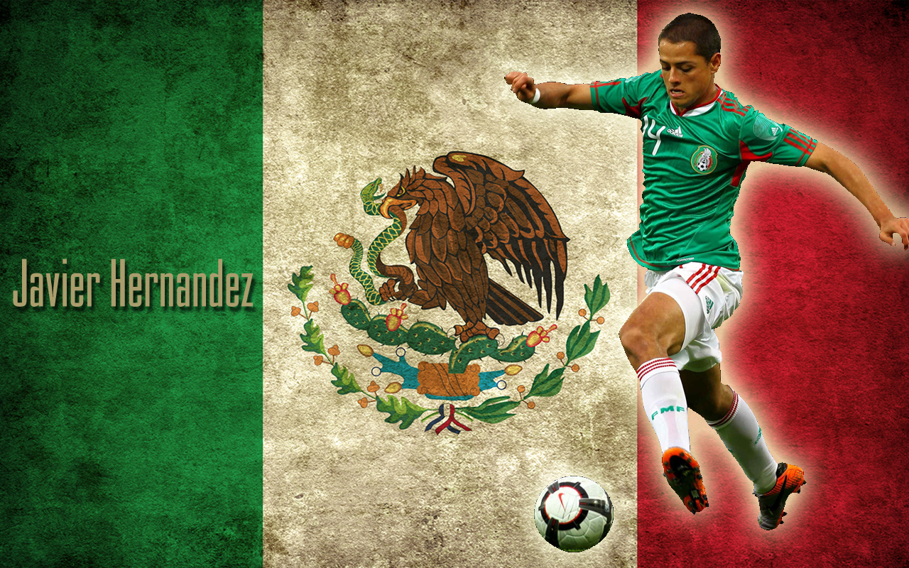 football wallpapers: manchester united | mexico | chicharito