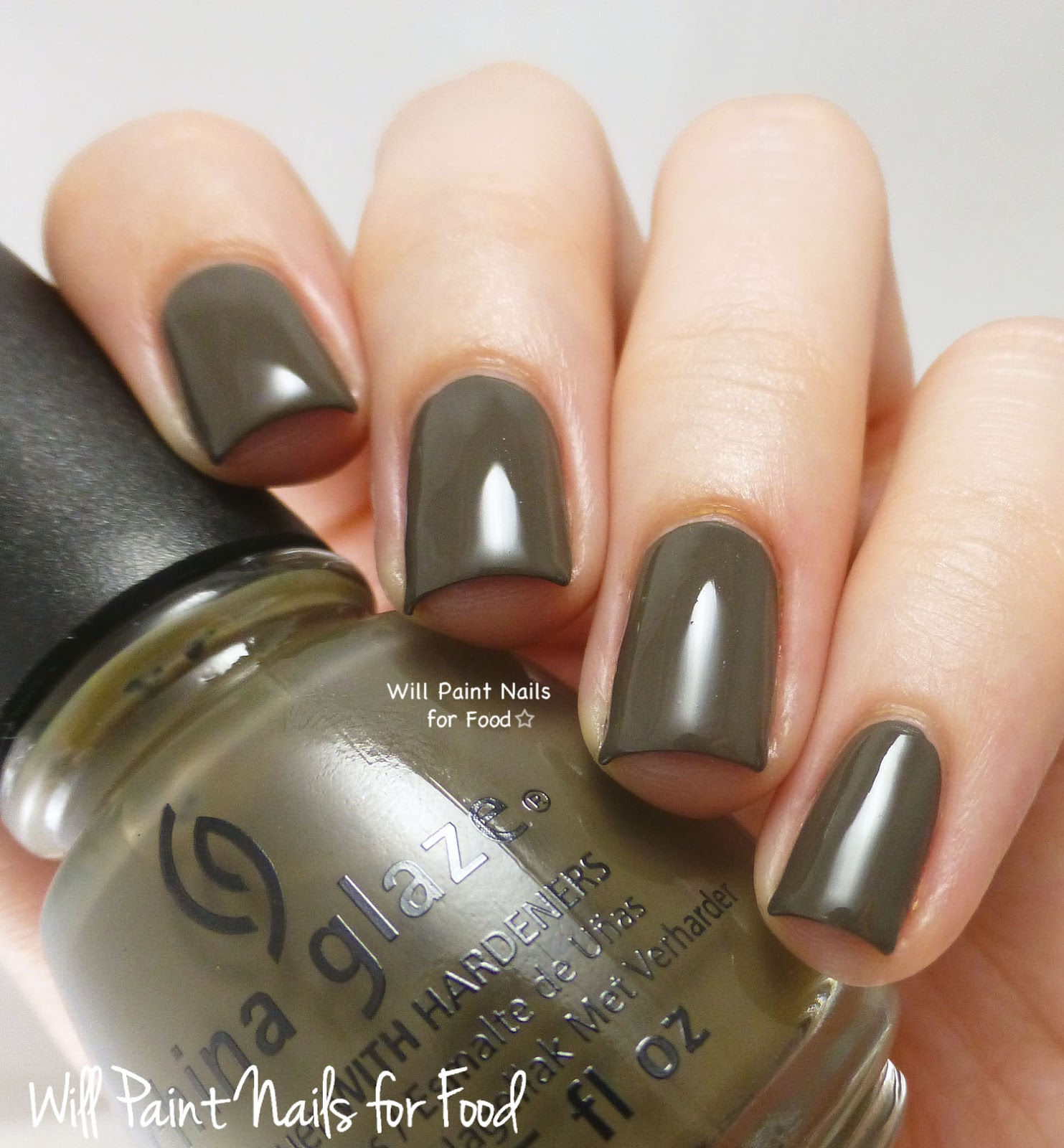 China Glaze Don't Get Derailed swatch