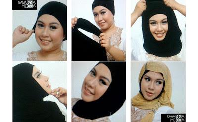 Model 2. Tips Hijab untuk Pipi Chubby image